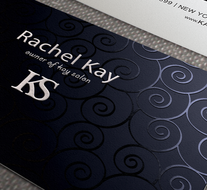 Business card designed by Xoil Design