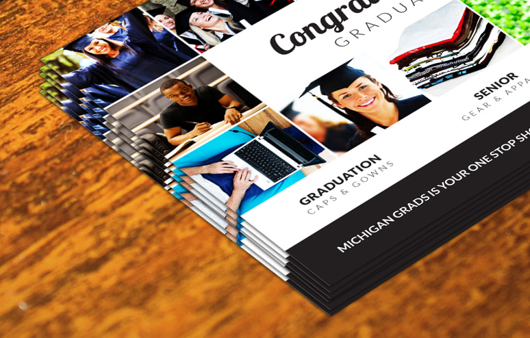 Michigan Grads Order Forms designed by Xoil Design
