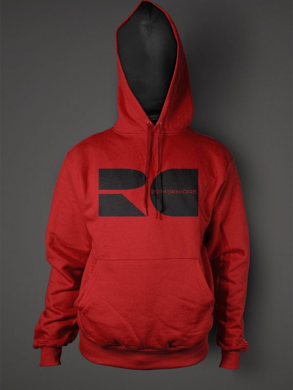 Reed City high school senior graduation hoodie designed by Xoil Design