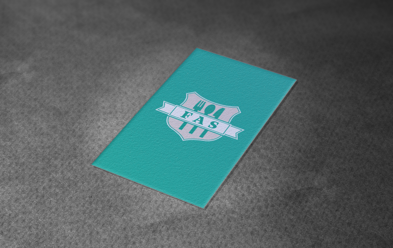 Food Allergy Shield business cards designed by Xoil Design