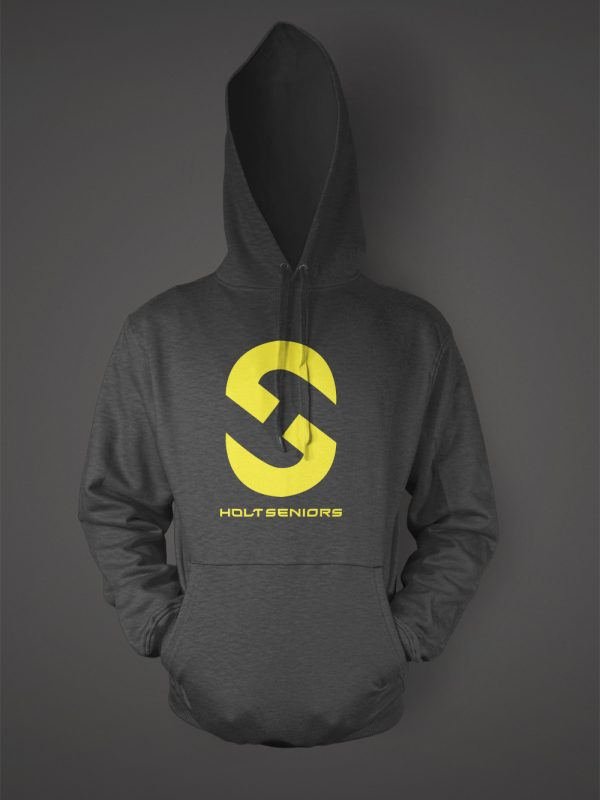 Holt high school senior graduation hoodie designed by Xoil Design