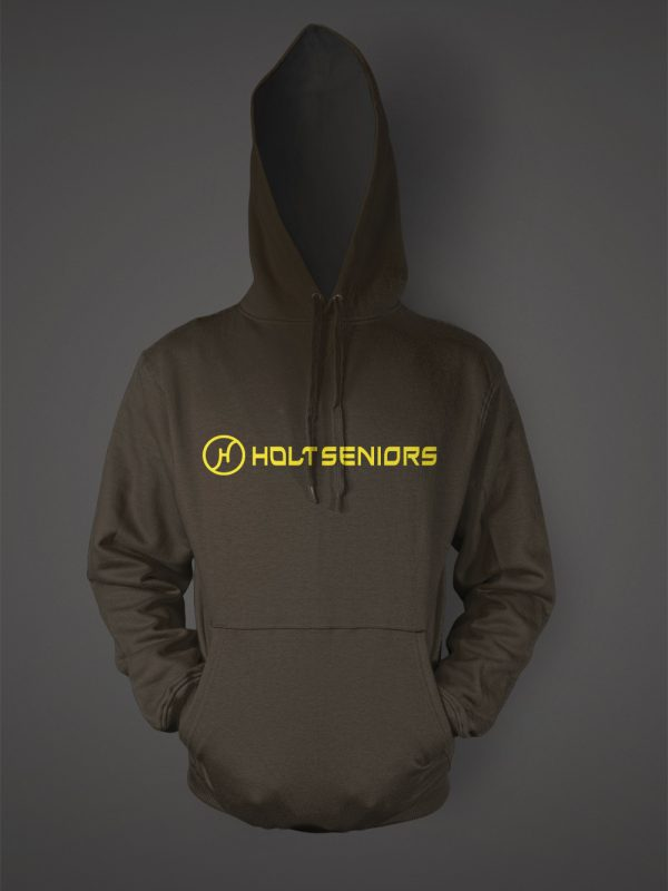 Hold high school senior graduation hoodie designed by Xoil Design