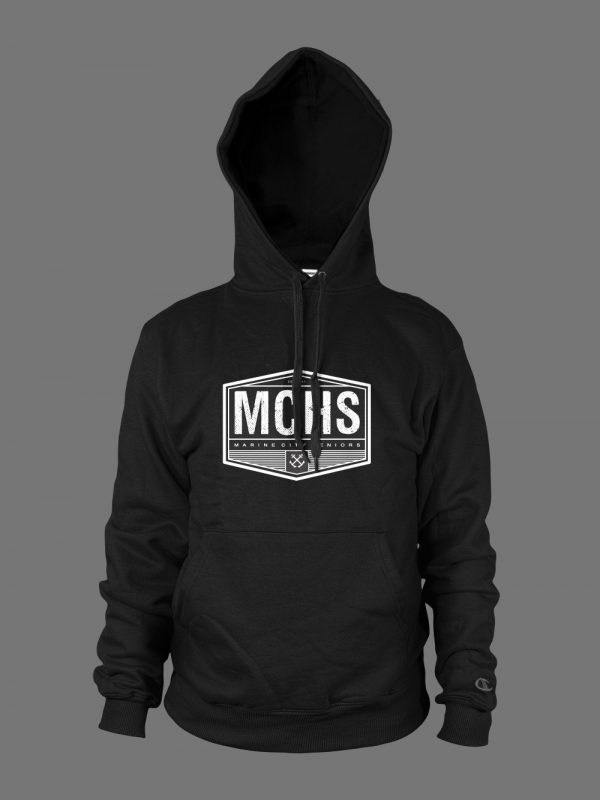 Marine City high school senior graduation hoodie designed by Xoil Design