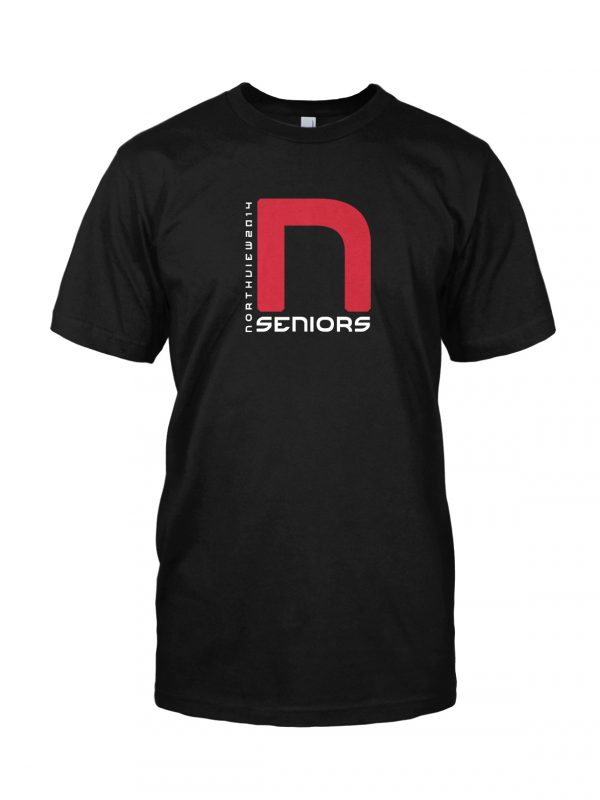 Northview high school senior t-shirt designed by Xoil Design