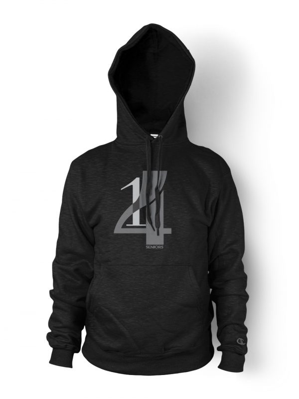 Classic Senior graduation hoodie designed by Xoil Design